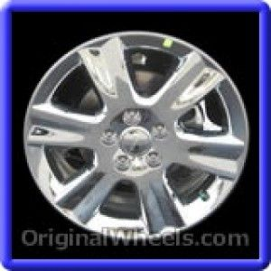 Dodge Journey 2009 Wheels & Rims Hollander #2374  #Dodge #Journey #DodgeJourney #2009 #Wheels #Rims #Stock #Factory #Original #OEM #OE #Steel #Alloy #Used