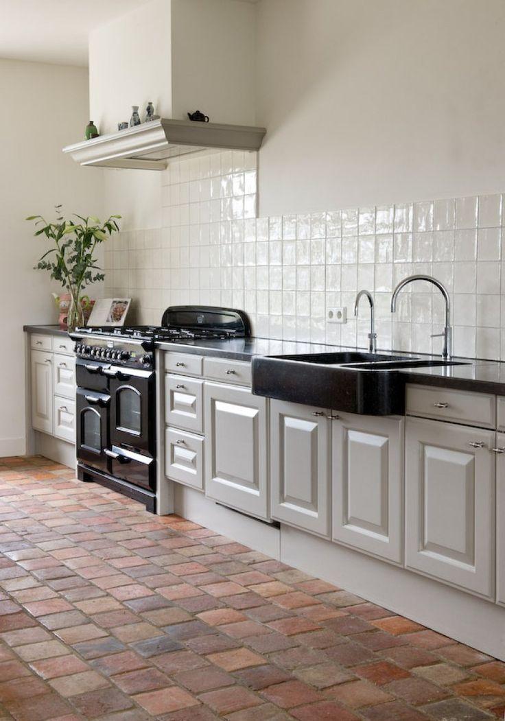 25 beste idee n over keuken wandtegels op pinterest witte tegels geometrische tegels en tegel - Deco keuken chique platteland ...