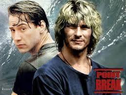 Confesso che la visione di Point Break da piccola è stato l'impulso iniziale, l'input per provare a praticare il surf. Un film adrenalinico, con un finale... travolgente!