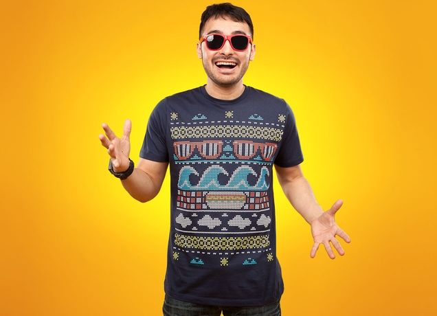 Ugly Summer Sweater - Threadless.com - Best t-shirts in the world