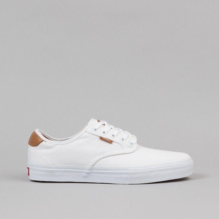 Vans Chima Ferguson Pro Shoes - White / White   Flatspot