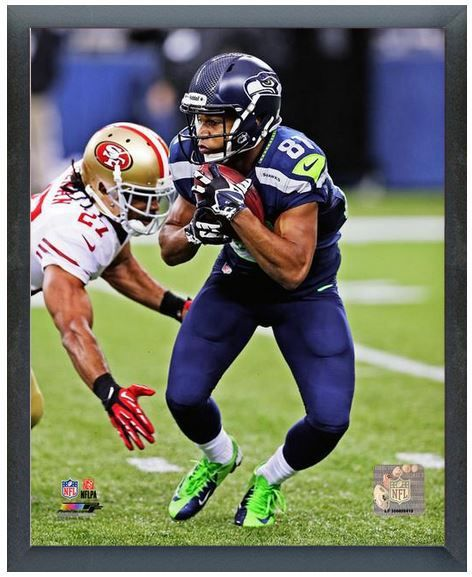 "Golden Tate 2013 Seattle Seahwaks -11"" x 14"" Photo in a Glassless Sports Frame"