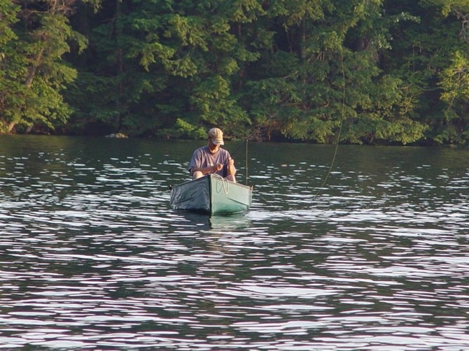 This is how you get away canoe fly fishing in new for New hampshire fishing