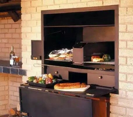 1000 ideas about indoor bbq on pinterest bbq table ovens and commercial range hood - Designing barbecue spot outdoor sanctuary ...