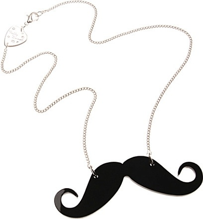 Tatty Devine Moustache Necklace