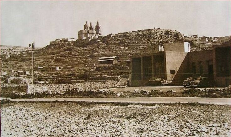 Mellieha 1955 Vintage Picture This Is How Db Seabank