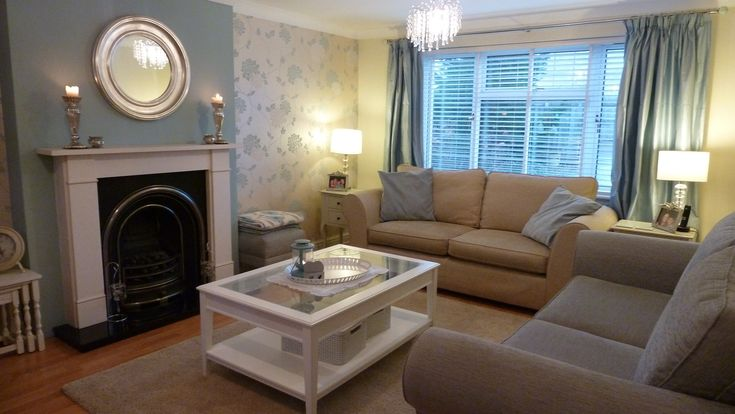 Our Duck Egg Living Room - in love!
