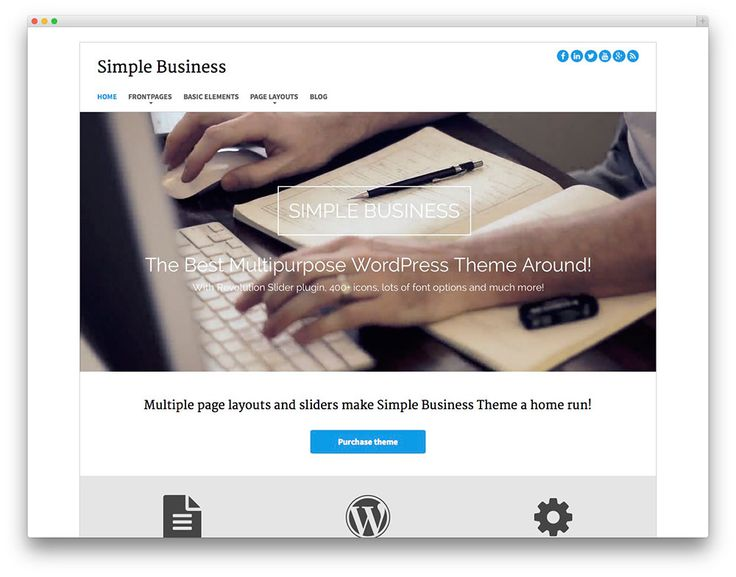 12 mejores imágenes de //Bootstrap Wordpress Themes en Pinterest ...