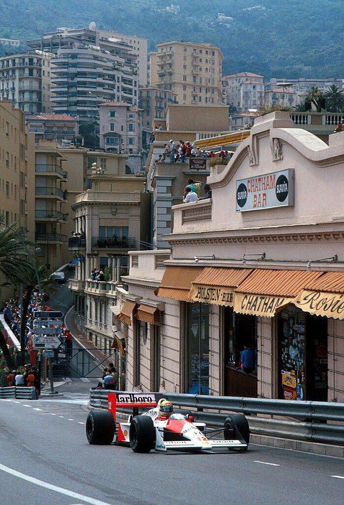 Ayrton Senna - McLaren-Honda - Monte Carlo, Monaco Grand Prix - 1988