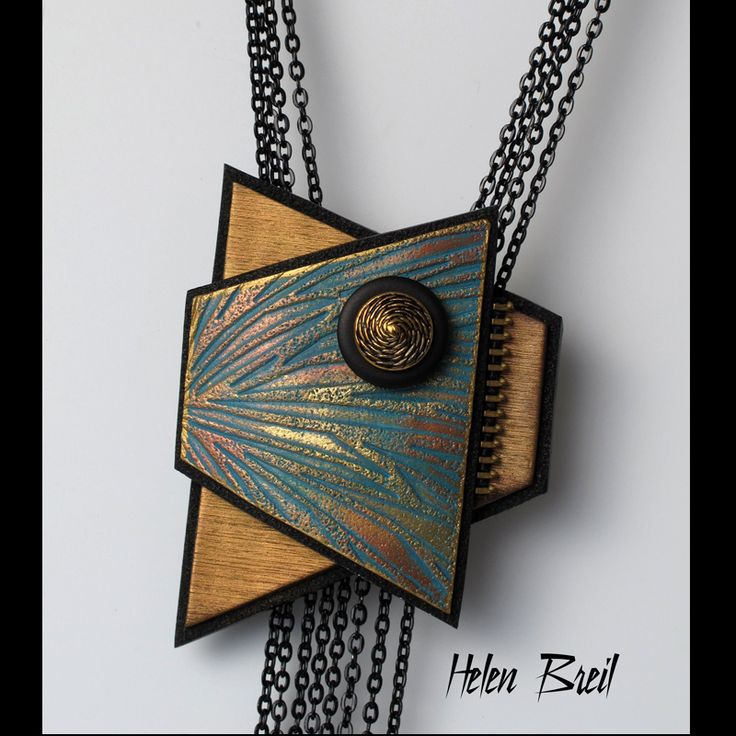 """Featuring texture stamp """"Radiating Rays Helen Breil Designs featuring my work, texture stamps, tutorials and my ebook, Shapes-25 Inspirational Jewellery Designs in Poymer Clay"""