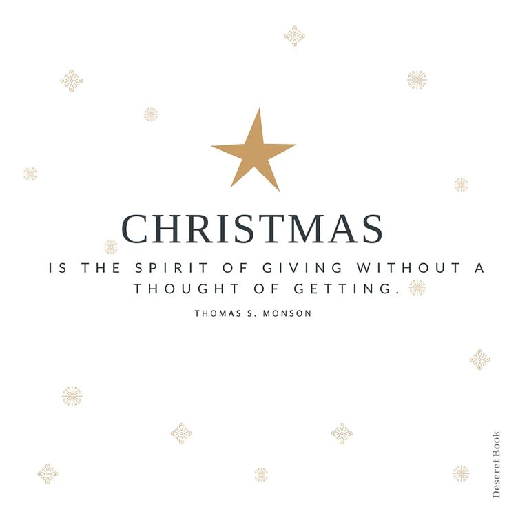 Get In The Spirit. #christmas #lds #quotes