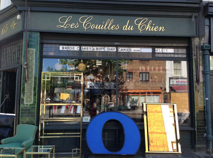 Les Couilles du Chien, translating as The Dogs Bollocks, is a treasure trove for taxidermy, pop out signs and Art Deco furnture. A must to visit. A well known source for many interior decorators from far and wide.