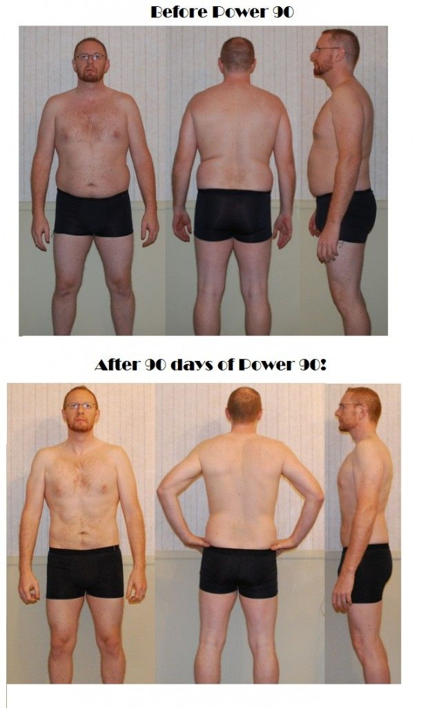 Check out some amazing results from Colin who just crushed Power 90!
