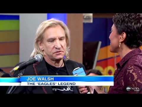 "Joe Walsh thanks Marjorie Bach for ""Analog Man"""