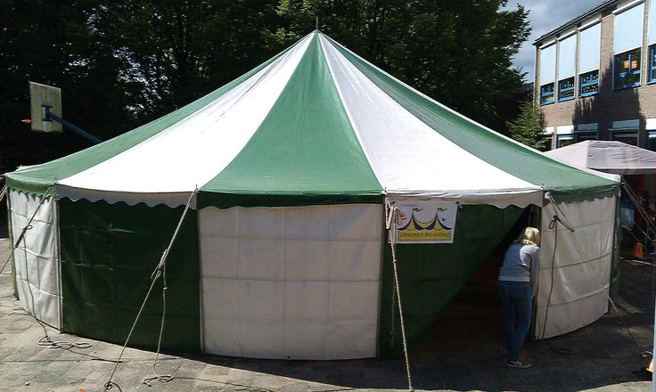 Onze eigen circustent - Circus op de Utrechtse Heuvelrug