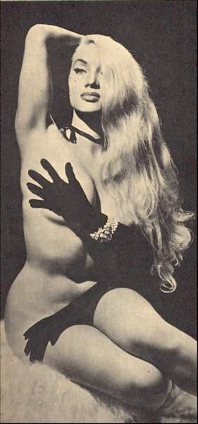 Burlesque Dancer, Lilly Christine~1950's