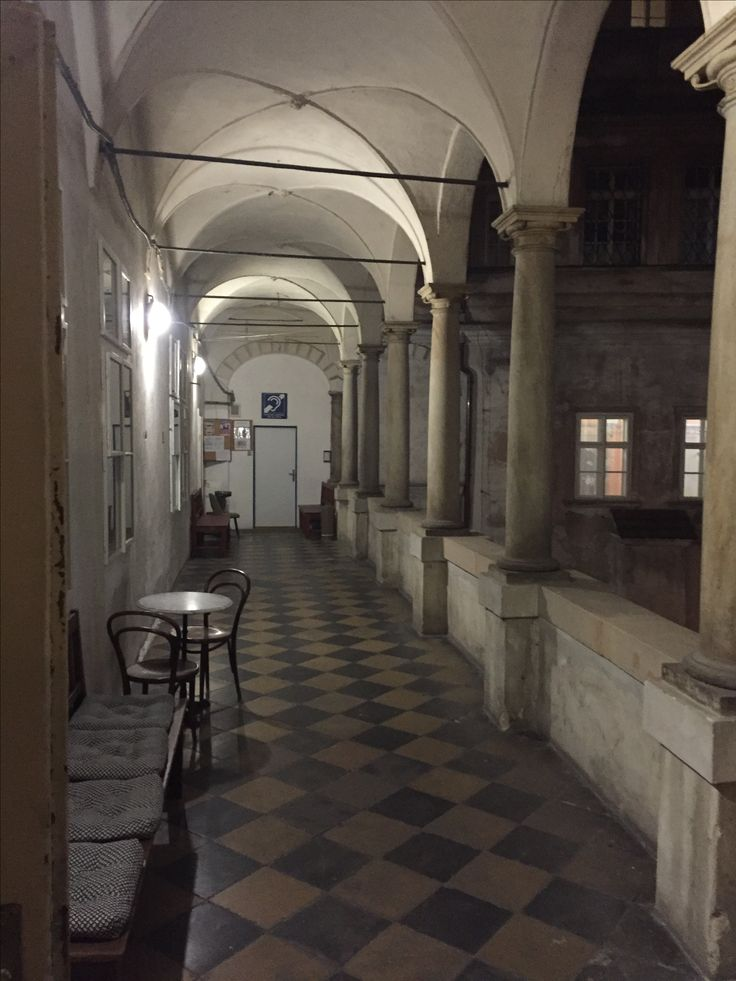 One of the most fotogenic inner yards in Prague. Used million times by filmmakers. Dlouha street | Prague