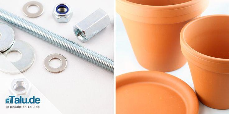 Materialien für Teelichtofen