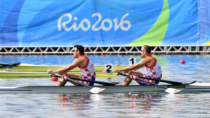 Lightweight men´s four olympics 2016 | Croatian brothers win gold in Men's double sculls at Rio Olympics. Guld till bröderna Martin och Valent Sinkovic, Kroatien, Silver Litauen och brons Norge. segertid 6.50.51, 2:an 6.51.79 och 3:an 6.53.25.
