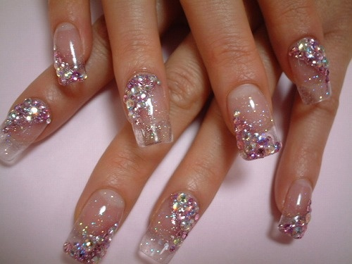 """How """"Kawaii (Cute)"""" is this? The gel nails and these kind of designs are the norm for us Japanese girls :)"""