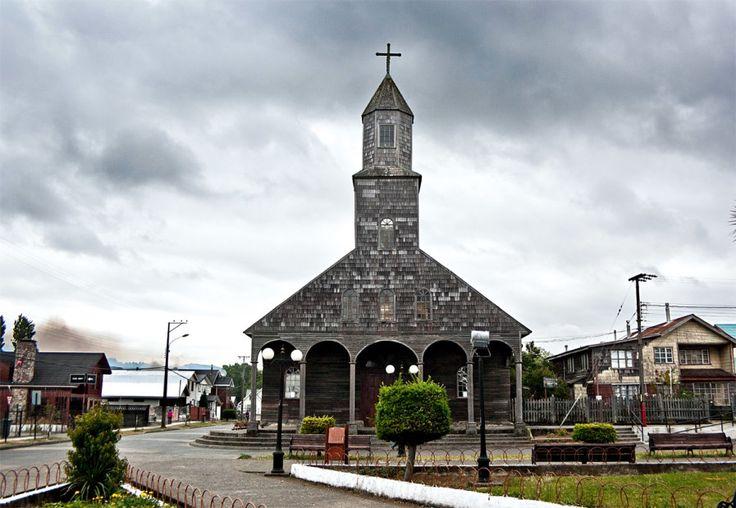 Bilderesultat for Iglesia Santa María de Loreto. Iglesia de Achao