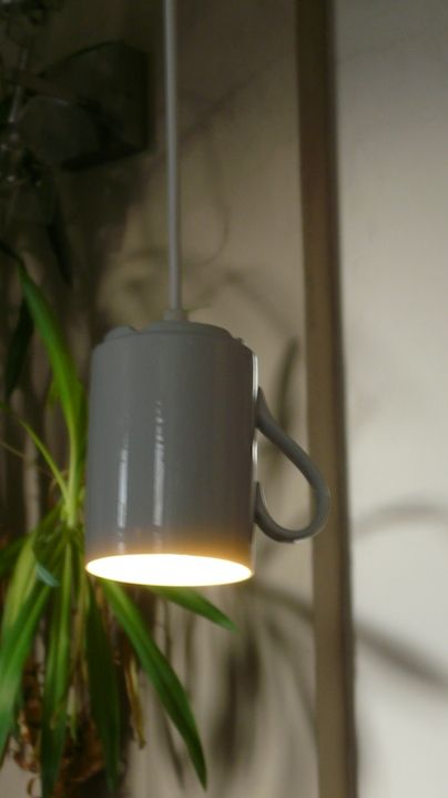White porcelain cup and white cable comesgood together.
