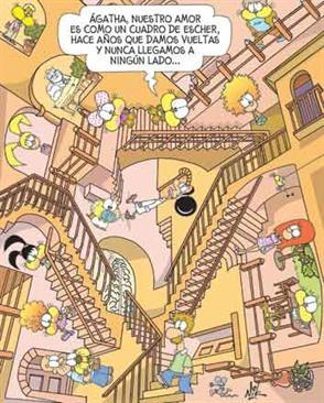 Escher en la versión de Nick