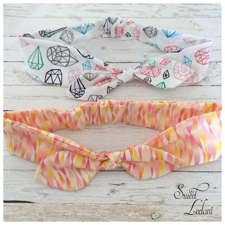 Knot headbands www.facebook.com/sweetleelani