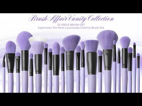 """Brush Affair Vanity Collection in """"Orchid""""   Coastal Scents • Coastal Scents"""