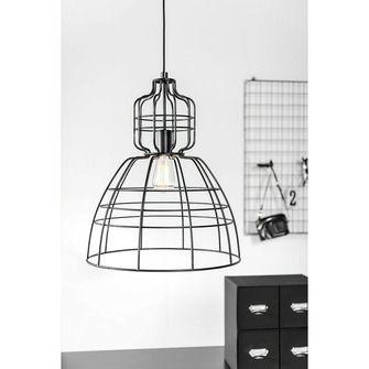 Hanglamp Gaby draadlamp zwart   Hanglampen   Verlichting   KARWEI