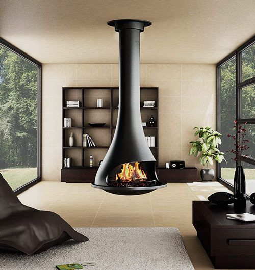 From wherever your Bordelet Tatiana 997 suspended fireplace is residing, it will cause a stir that others will crave with its 360 degree fire rotation.