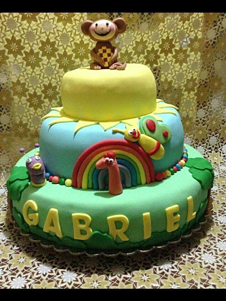 Baby tv cake...