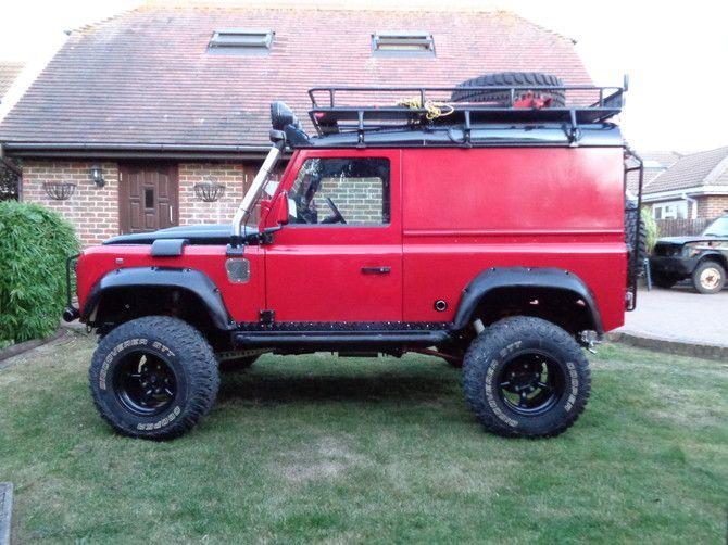 2015 Land Rover Defender Heritage Cooper Discoverer STT 33 ...