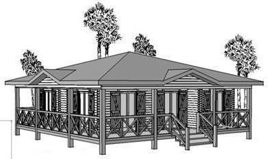 modéle de maison en bois plan pin sylvestre