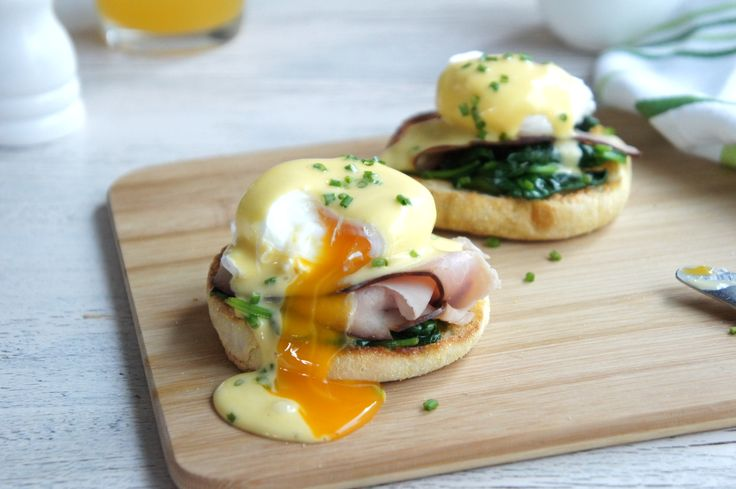 Time to start drooling over that eggs benny you're going to whip up for yourself this weekend!