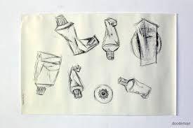 een schets met composities
