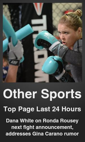 Top Other Sports link on telezkope.com. With a score of 701. --- Dana White on Ronda Rousey next fight announcement, addresses Gina Carano rumor. --- #topothersportslinks --- Brought to you by telezkope.com - socially ranked goodness