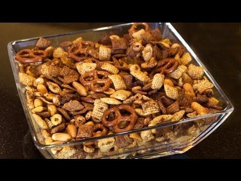 World's Best Chex Mix Recipe - how to make Chex mix - YouTube