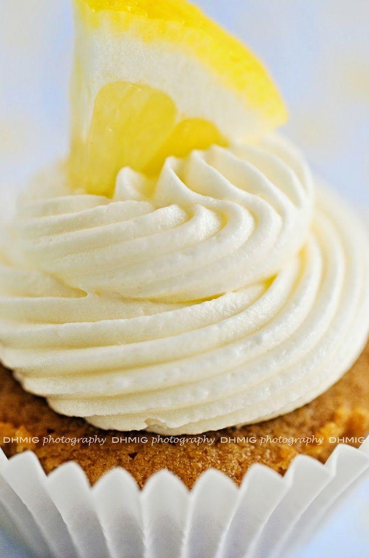 Cupcakes ripiene al limone