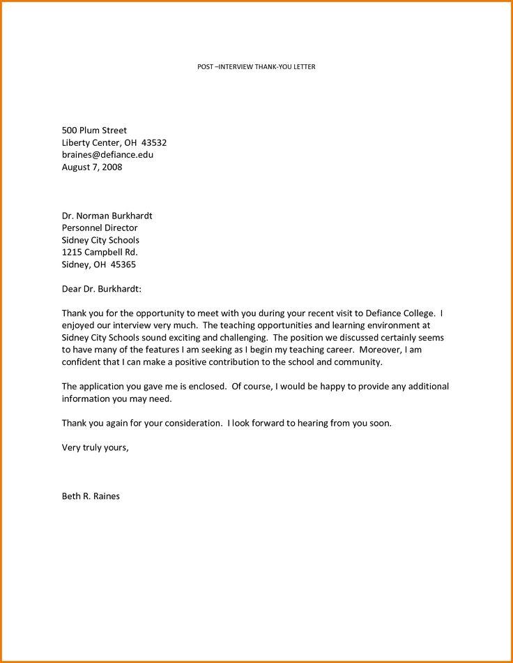 Sample Letter Appreciation Dedication Sample Letters