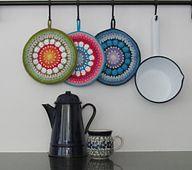 Ravelry: Rosetta Mandala / Potholder pattern by Just Do
