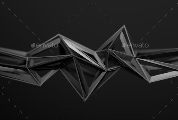Abstract 3D Rendering Of Polygonal Shape. - Abstract #3D #Renders Download here: https://graphicriver.net/item/abstract-3d-rendering-of-polygonal-shape/17765882?ref=alena994