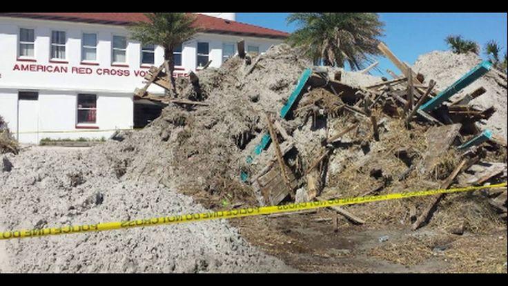 Hurricane Matthew: Exclusive  Footage of Storm Damage In Florida