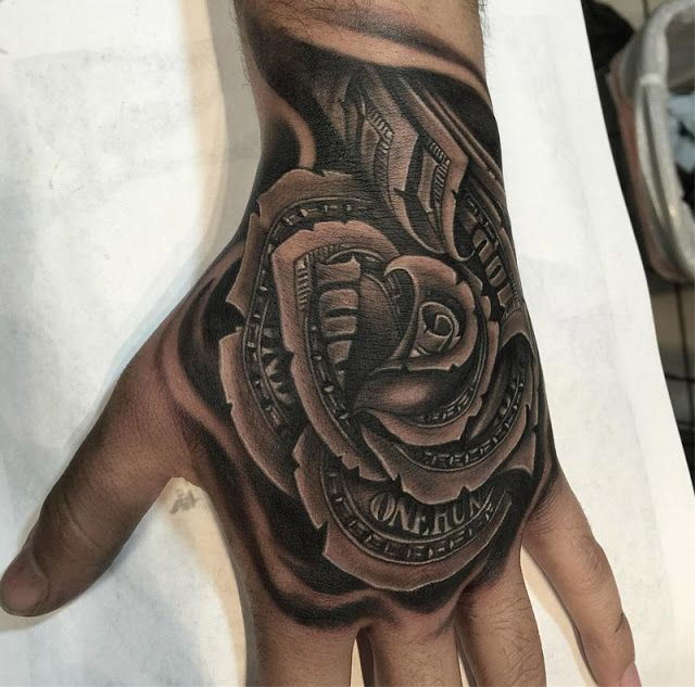 Tattoos Beautiful Images: Money Rose