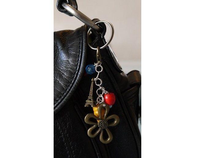 hand beaded bag charms, £3.00