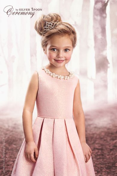Fashion kids, little princess Anna Pavaga