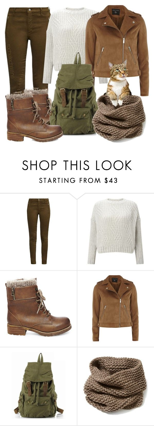 """""""Warm Winter Boots"""" by rochellechristine ❤ liked on Polyvore featuring French Connection, Miss Selfridge, Steve Madden, Dorothy Perkins, Lafayette 148 New York, Winter, GREEN, cats, brown and winterboots"""