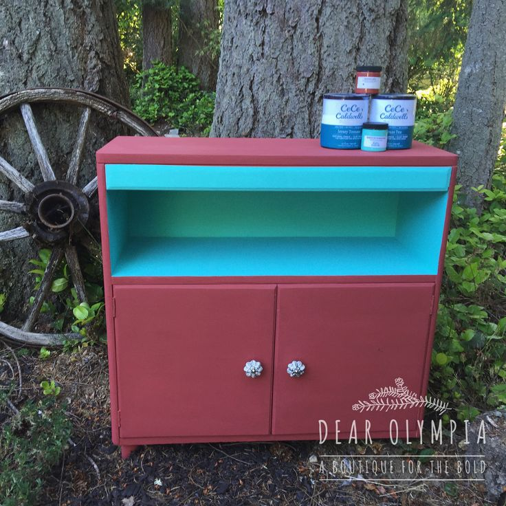 Barn Red Custom Mix Using Cece Caldwells Natural Chalk Clay Paints Mid Century Modern