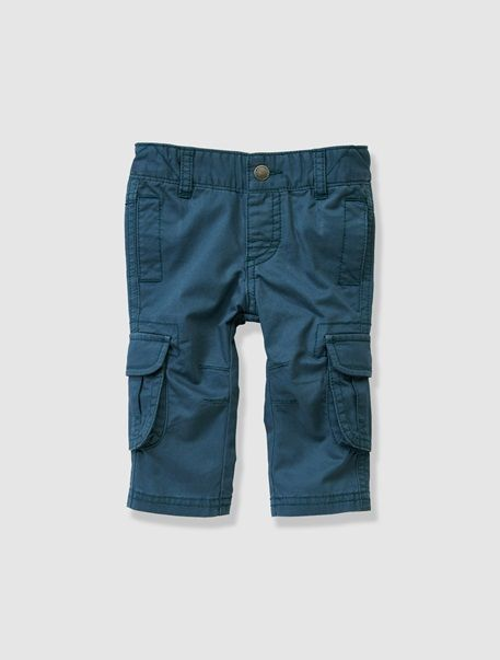 Baby Boy's Combat Style Trousers Grey+Mustard+Navy