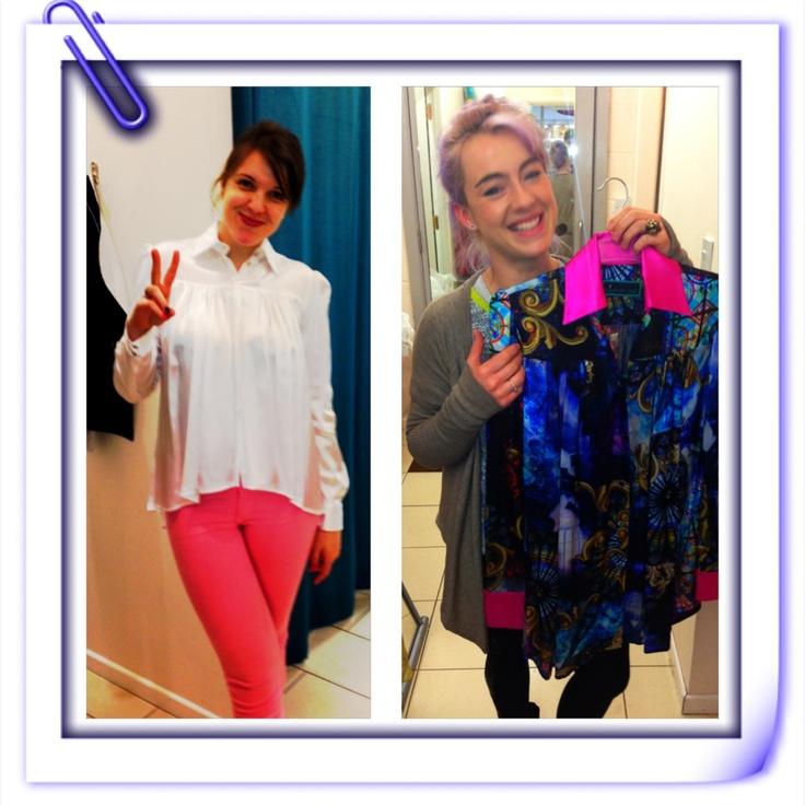 Me and Lou raw @k a chu ART Chic. Irish Couture, Powerscourt Townhouse Centre, Dublin 2, Ireland.